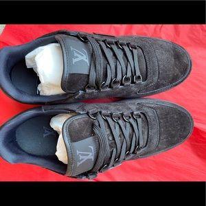 Black New Louis Vuitton men sneakers